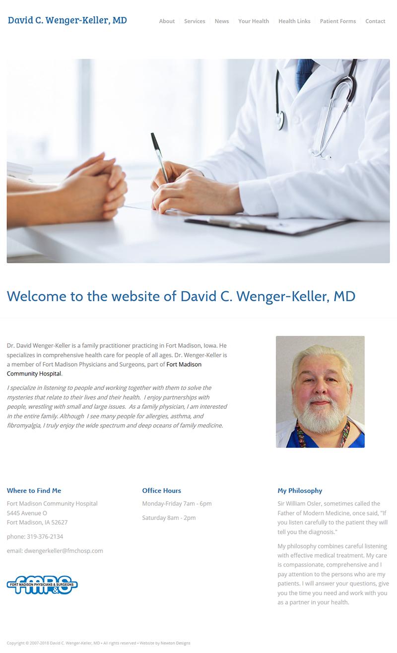Dr. David Wenger-Keller