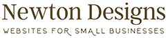 Newton Designs: websites for small businesses Logo