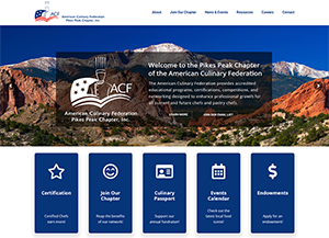 American Culinary Federation, Pikes Peak Chapter